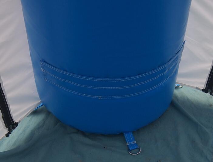 Stand gonflable type tente spider pour la ville de saint - Piscine saint laurent du var ...