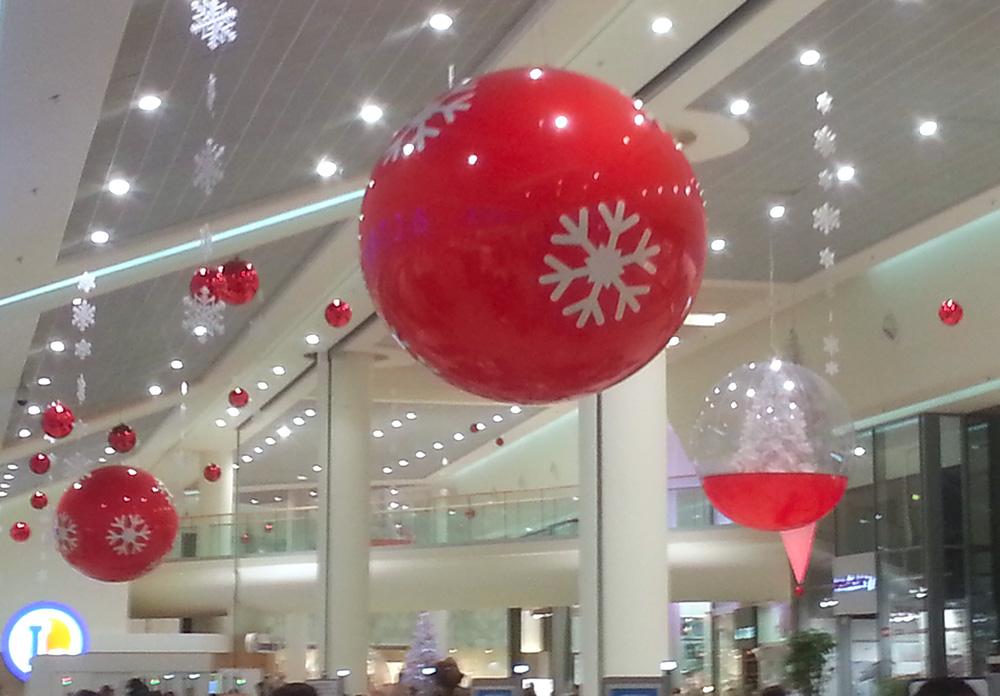 Ballon suspendu